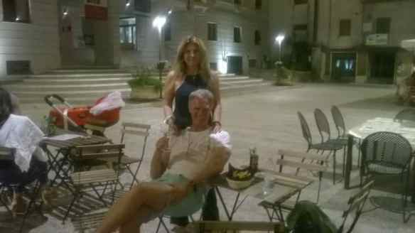 Marina and I in Itri