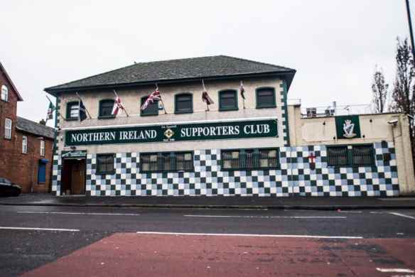 This soccer pub has been a unionist stronghold. Photo by Marina Pascucci