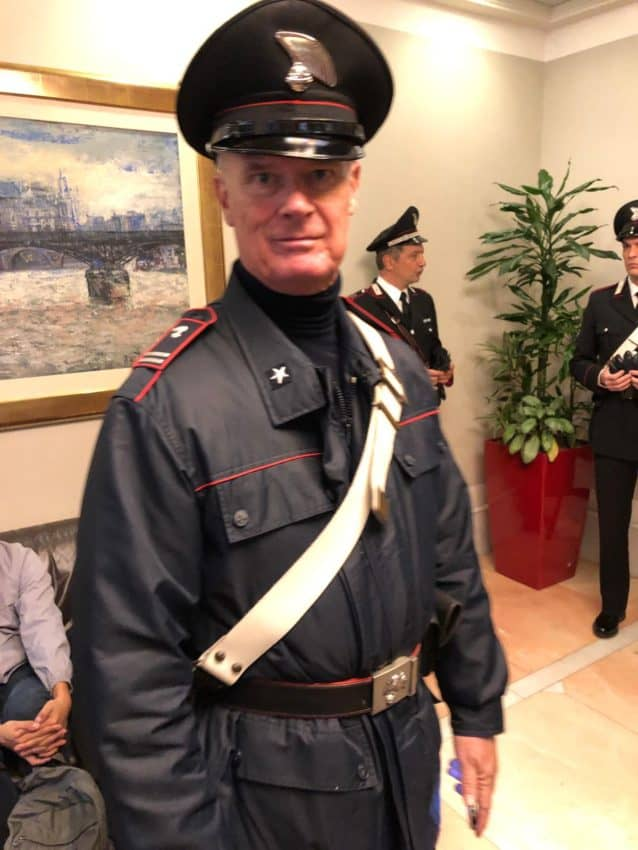 "Life as a film extra in Italy: From a cardinal to a Carabinieri, my new part-time gig is not all ""ACTION!"""