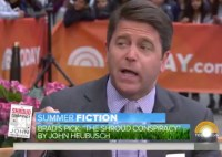 Today Show Brad Thor Picks The Shroud Conspiracy for Summer