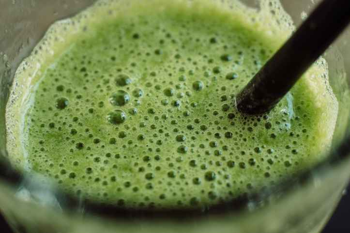 green drink smoothie