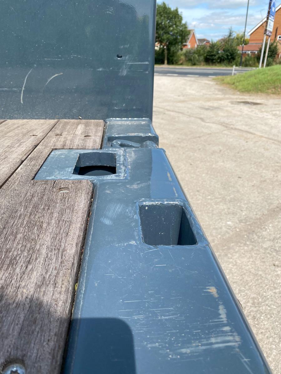 Broshuis step frame extender