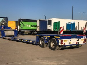 Broshuis 2014 Tandem 300mm Low Loader HGV Trailer