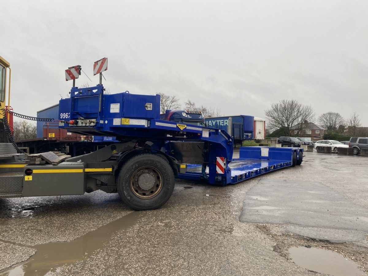 Broshuis Wafer Bed Low Loader