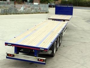 Tri axle Platform Extendible Trailers