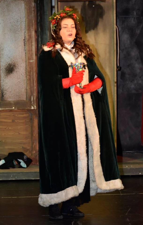 Ghost Of Christmas Present Costume.The Ghost Of Christmas Present Starset Theatre