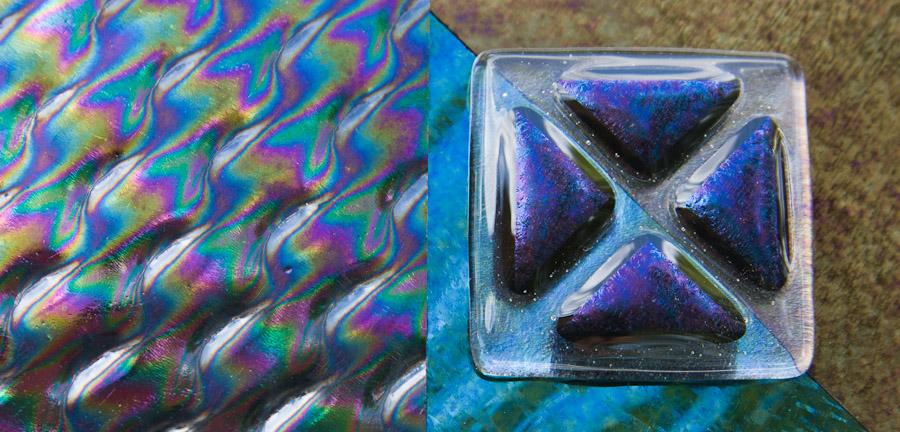 irridized glass