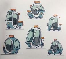 ZPD traffic officer buggy