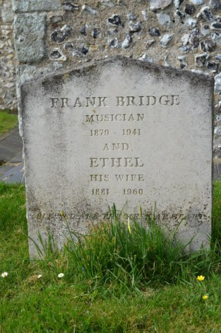 Frank Bridge grave