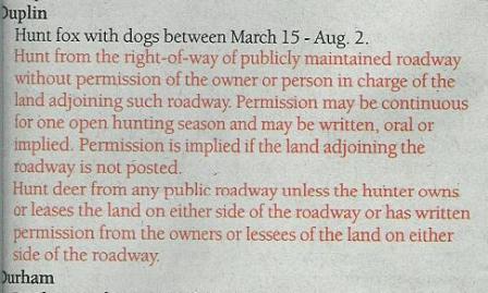 Duplin County Regulation 2008