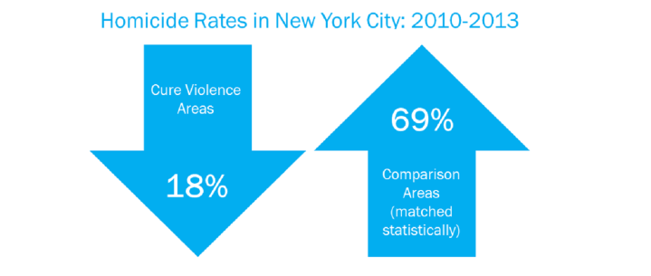 Effectiveness of the Cure Violence Model in New York City