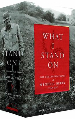 What I Stand On by Wendell Berry - image of the box set.