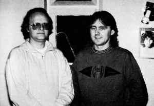 Dee Long and John Jones in Hammerwood 1989.