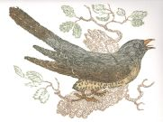 Reduction Linoprint, 31 x 25cm. Edition of 24 prints. £110