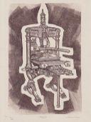 Monochrome Linoprint, 26 x 17cm. Edition of 26 prints. £50