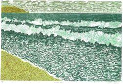 Reduction Linoprint, 38 x 25cm. Edition of 18 prints. £140