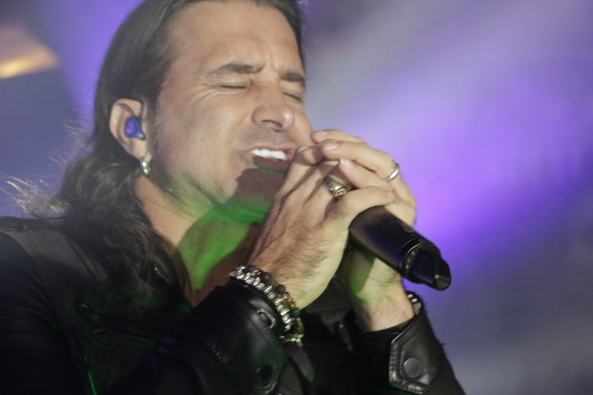 Scott Stapp lead vocalist and lyricist of the rock band Creed candid portraits by John Joseph Dowling Jr.