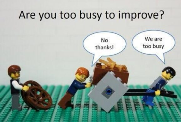Too Busy To Improve image