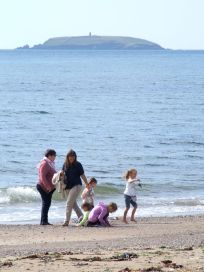 Capel Island in the background