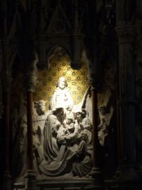 Some of the sculpture work inside St. Colman's Cathedral, Cobh