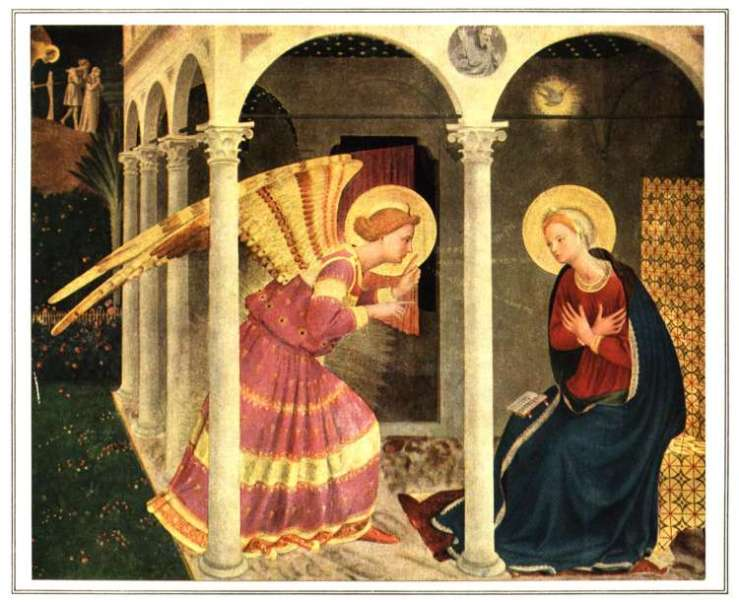 Picture of The Annunciation by Fra Angelico
