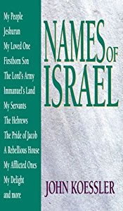 Cover of Names of Israel by John Koessler