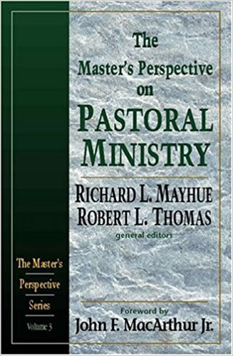 Cover of The Master's Perspective on Pastoral Ministry