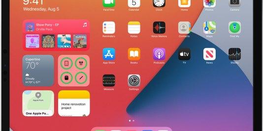 iOS 14 on iPad