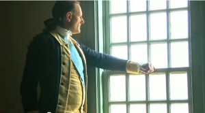 """Scene from """"Secrets of the Founding Fathers."""" The History Channel"""