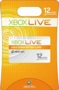 Xbox Live - Stick to top-up cards