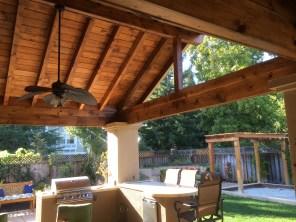 Custom indoor + outdoor room