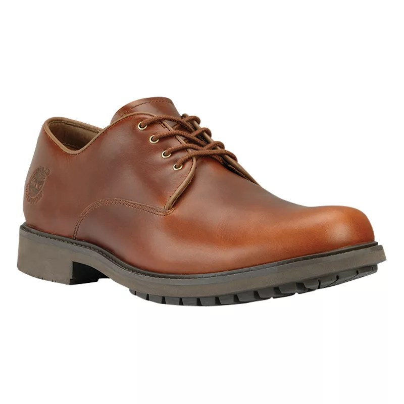 Tan Leather Deck Shoes