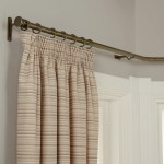 John Lewis Partners Made To Measure Classic Bay Bend Curtain Pole Disc Finial At John Lewis Partners