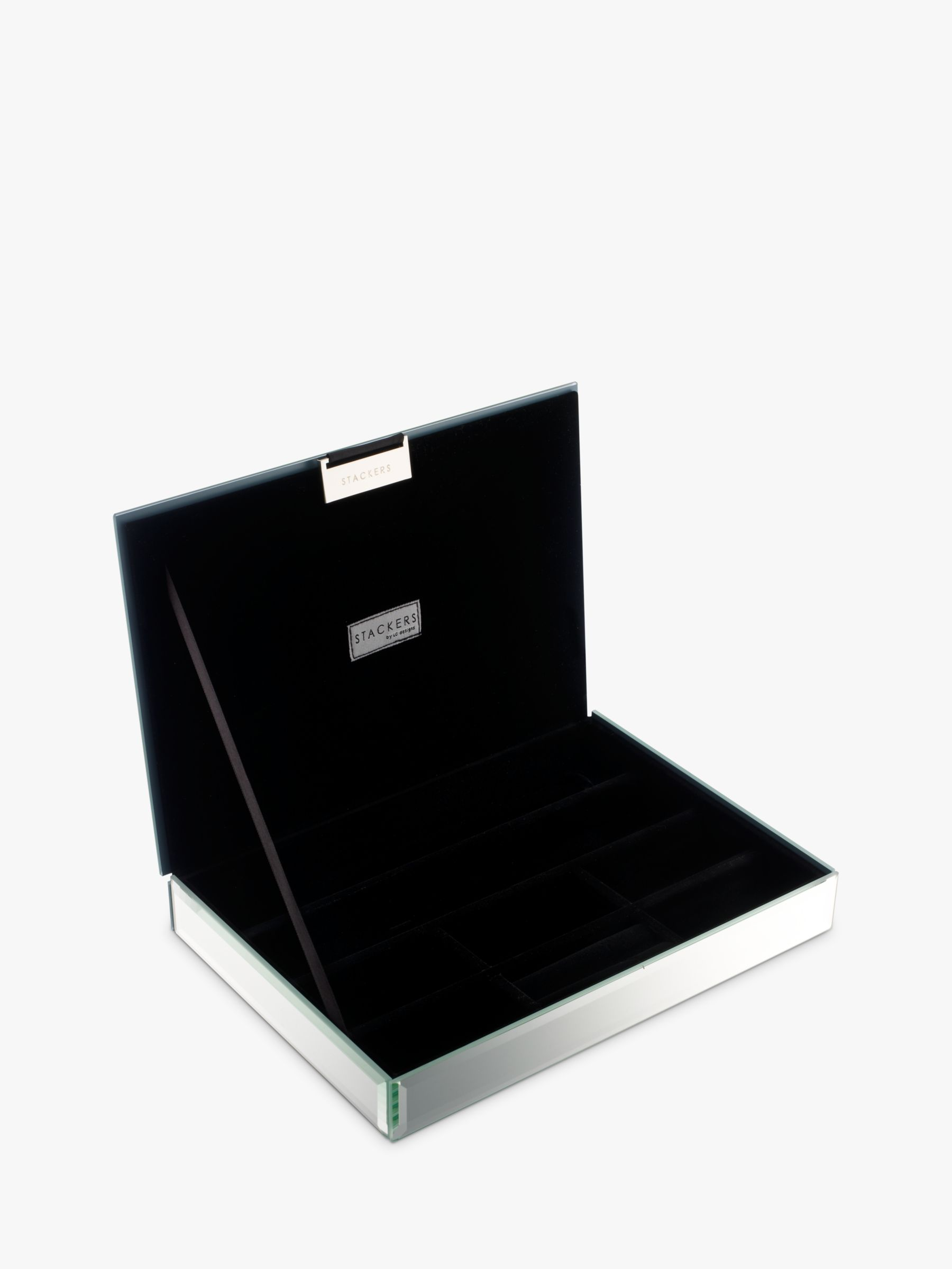 Buy Stackers Glass Jewellery Boxes John Lewis