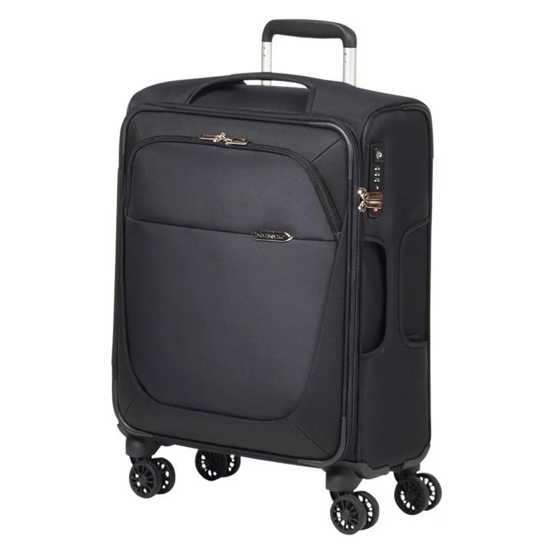 buysamsonite b lite 3 4 wheel 55cm cabin suitcase black online at johnlewis