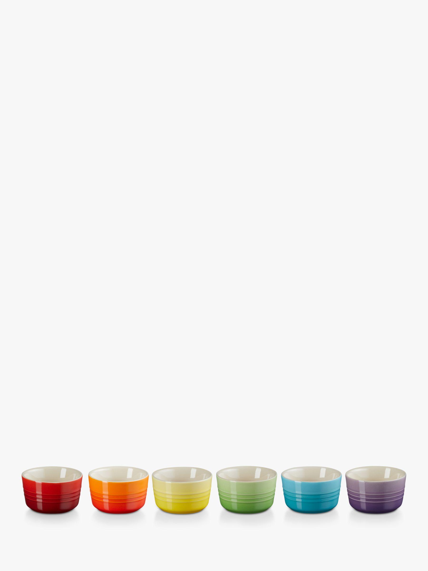 Buy Le Creuset Rainbow Mini Ramekin Set Of 6 John Lewis