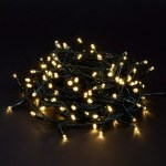 John Lewis 160 Led Indoor Outdoor Christmas Lights With Timer Warm White 13m At John Lewis Partners