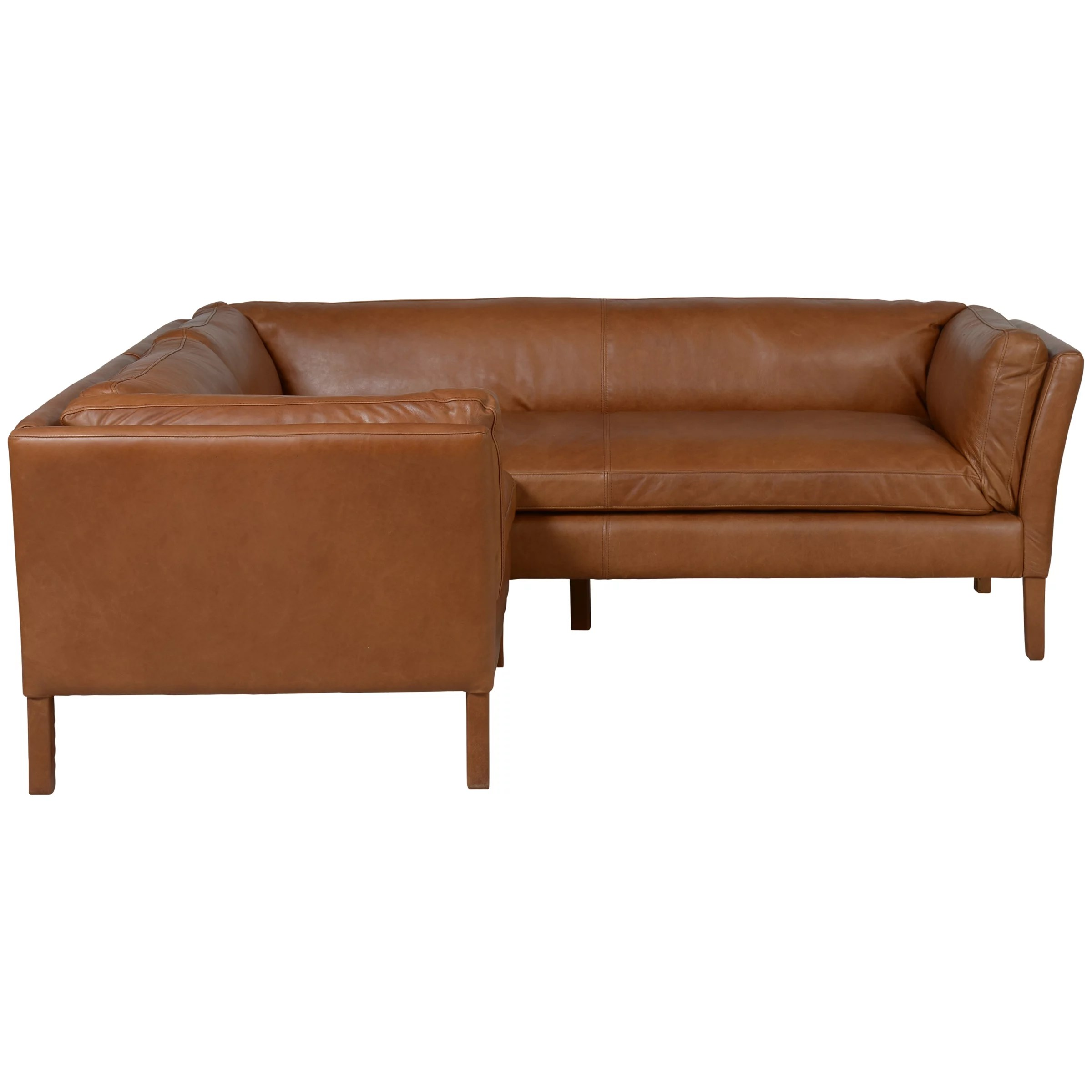 halo groucho aniline leather small