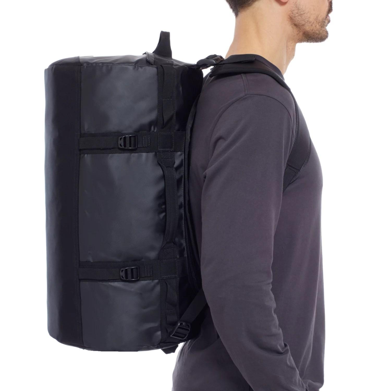 The North Face Base Camp Duffle Bag, Small, Black at John ...