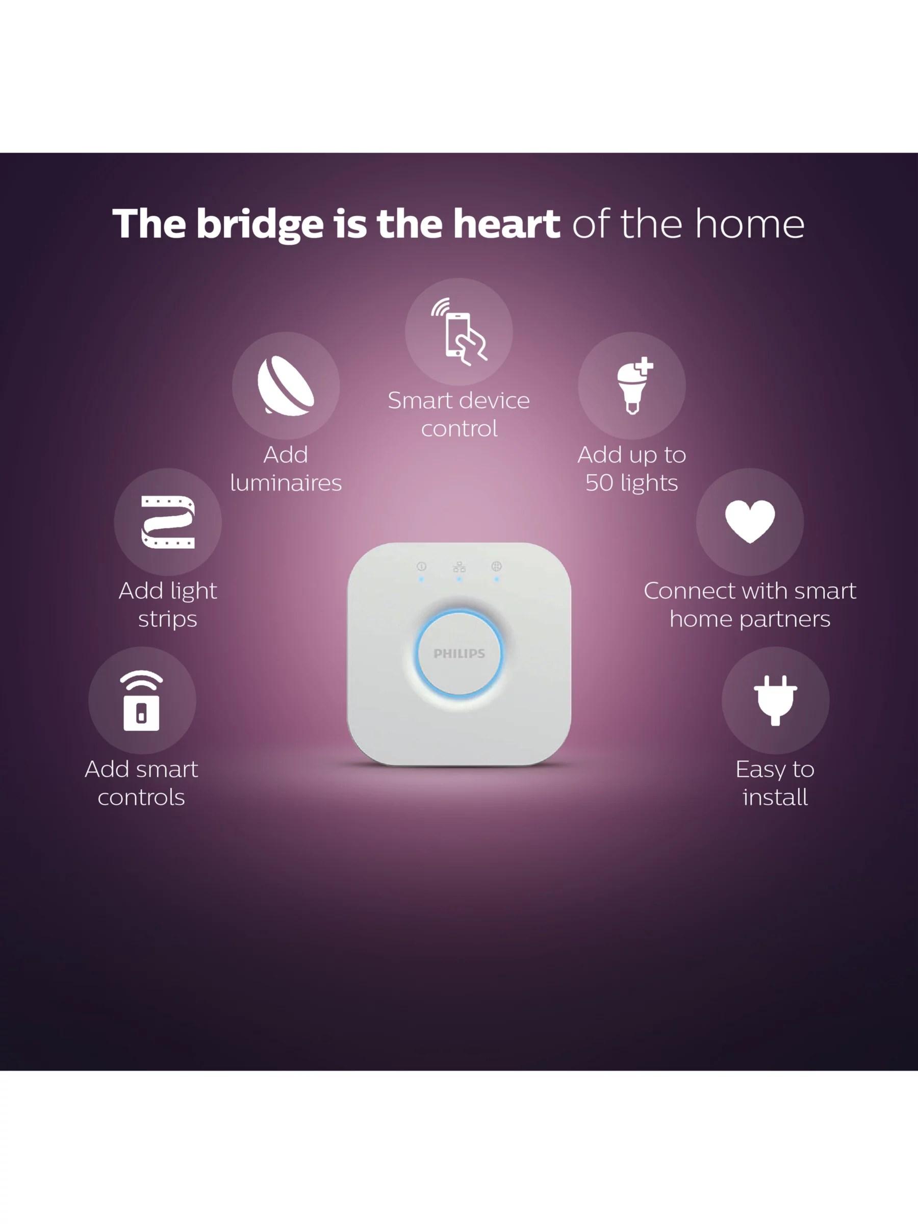 philips hue personal wireless lighting bridge apple homekit enabled
