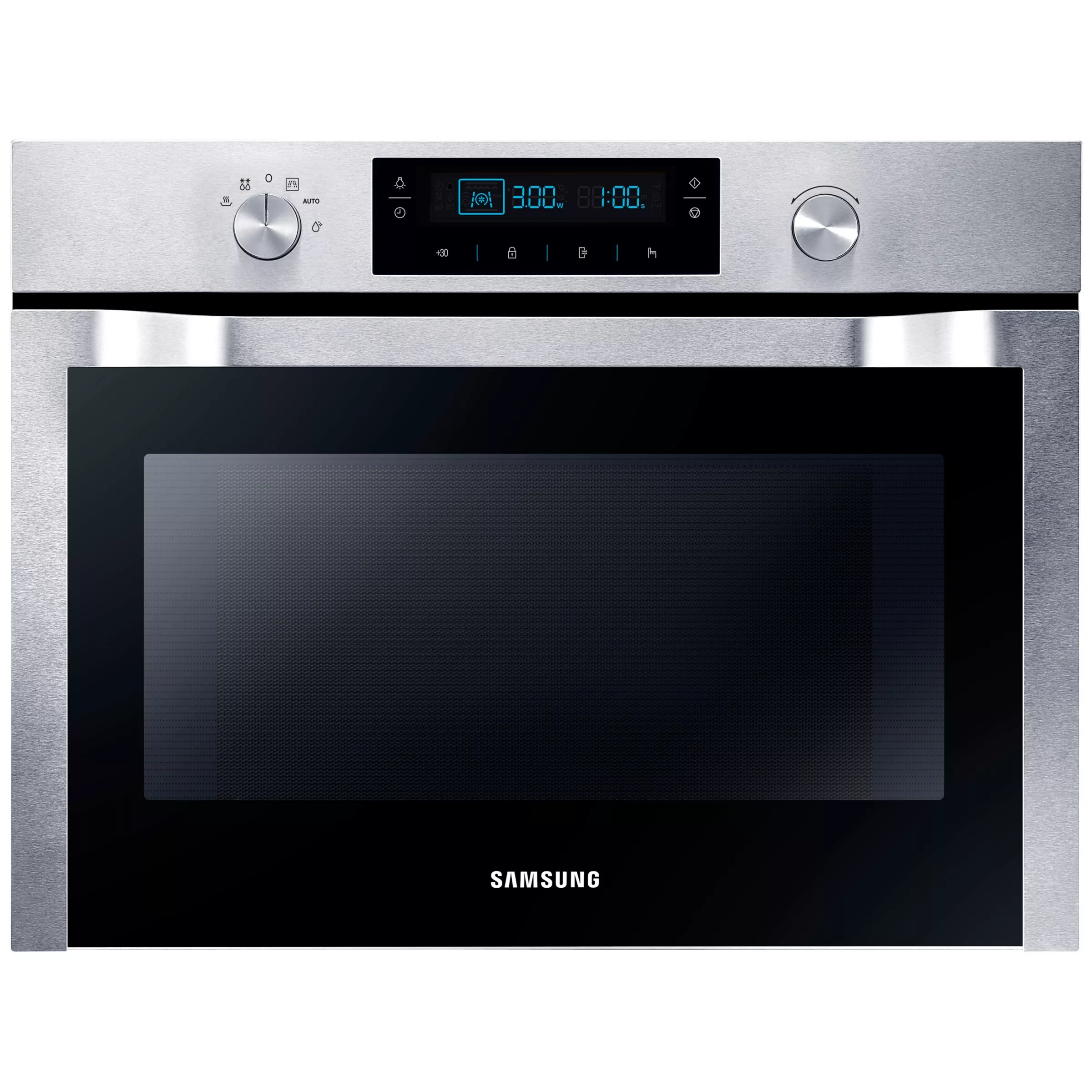 in microwave oven stainless steel