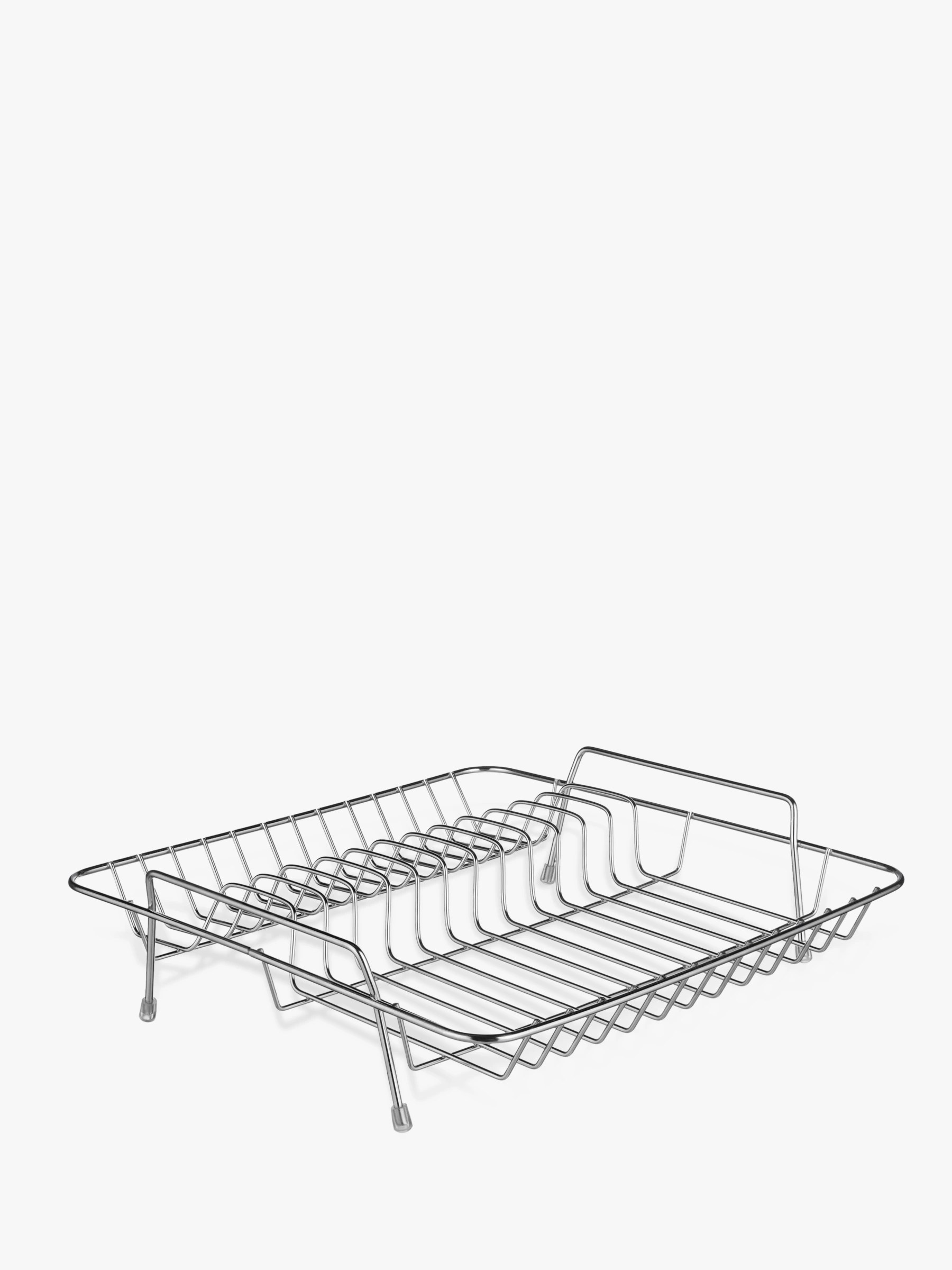 john lewis partners stainless steel dish drainer