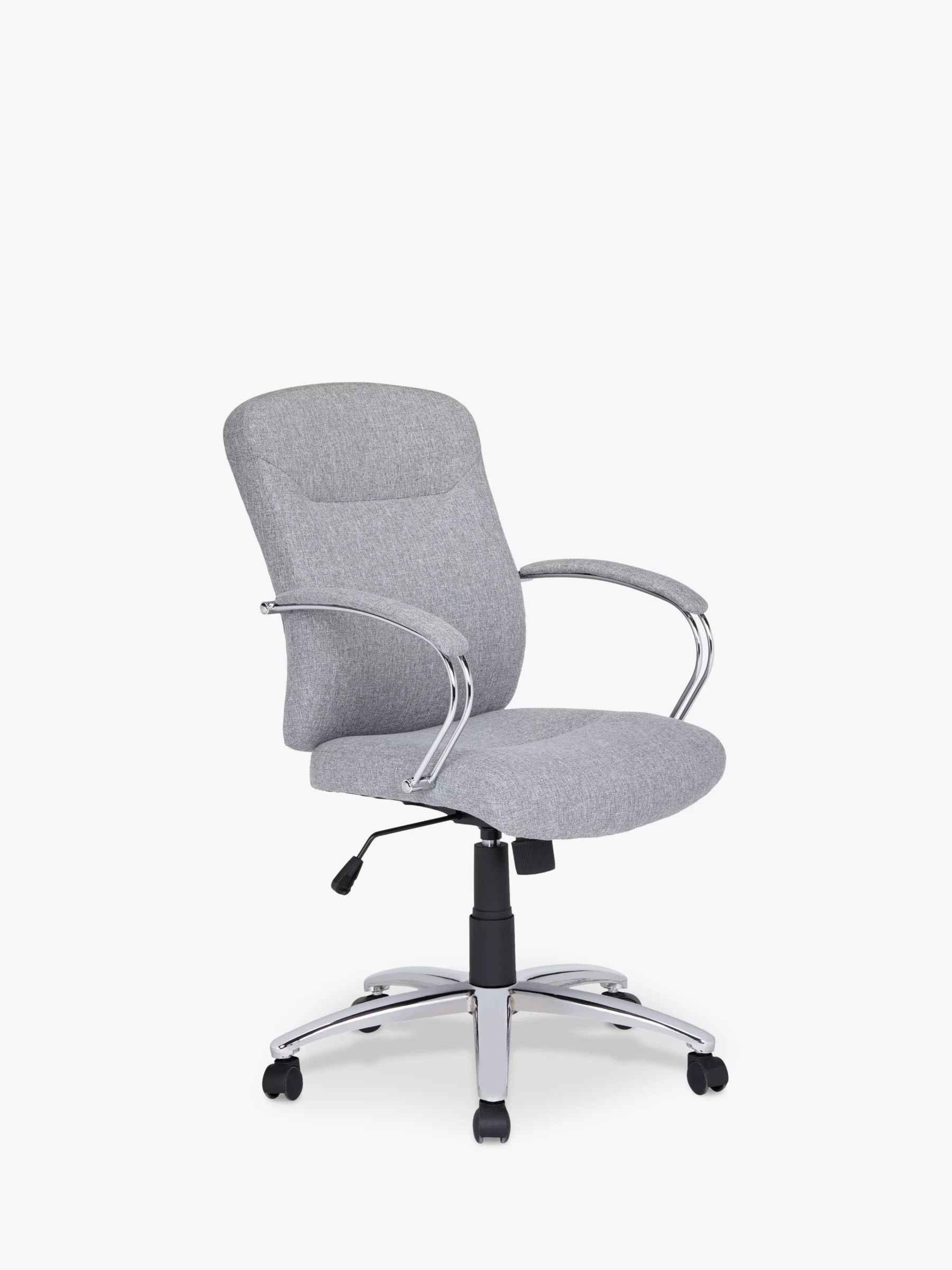 John Lewis Partners Warner Fabric Office Chair Grey At John Lewis Partners