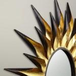 John Lewis Partners Large Sunburst Mirror Dia 92cm Gold Black At John Lewis Partners