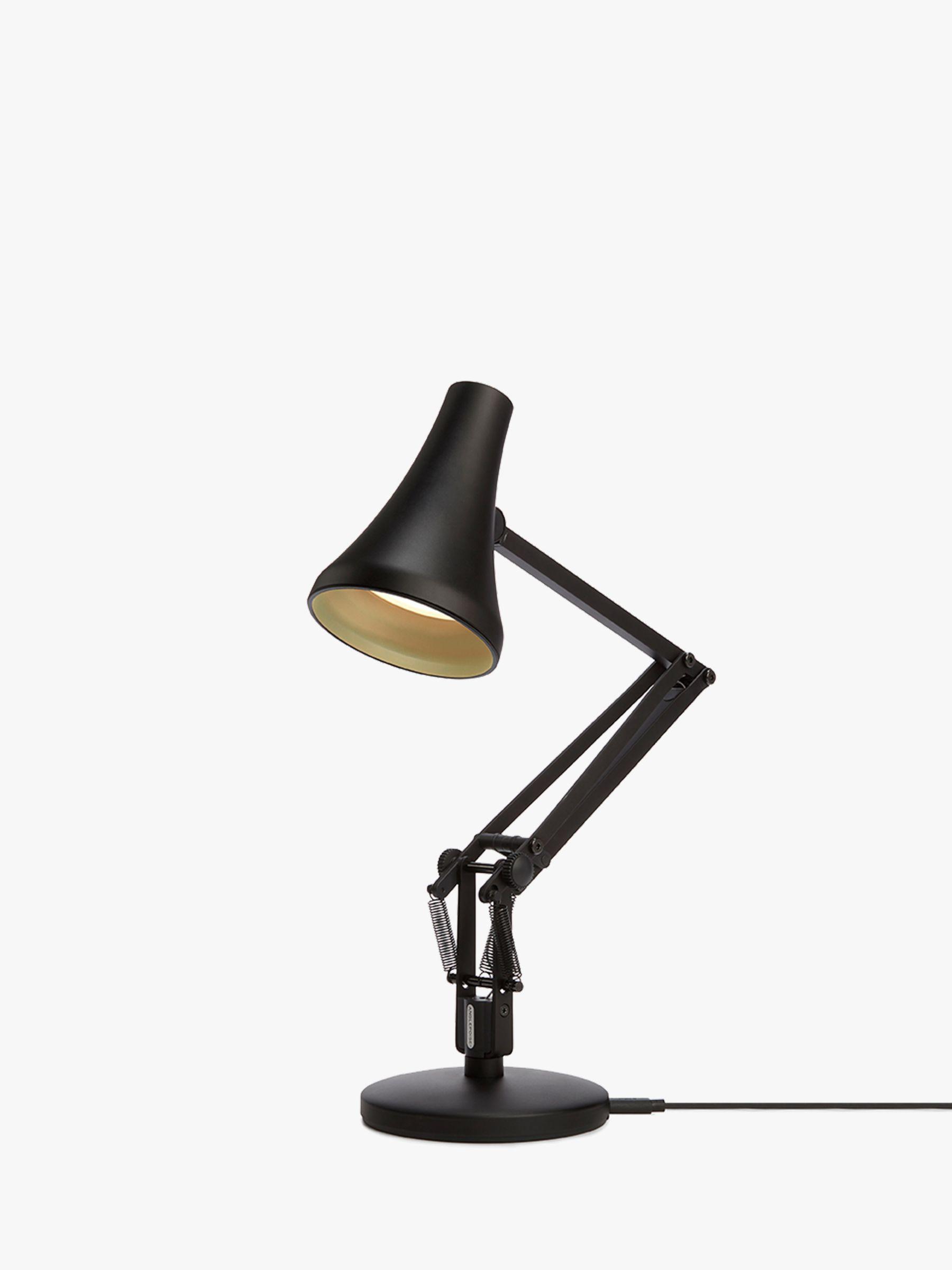 Anglepoise 90 Mini Mini LED Desk Lamp, Black at John Lewis ...