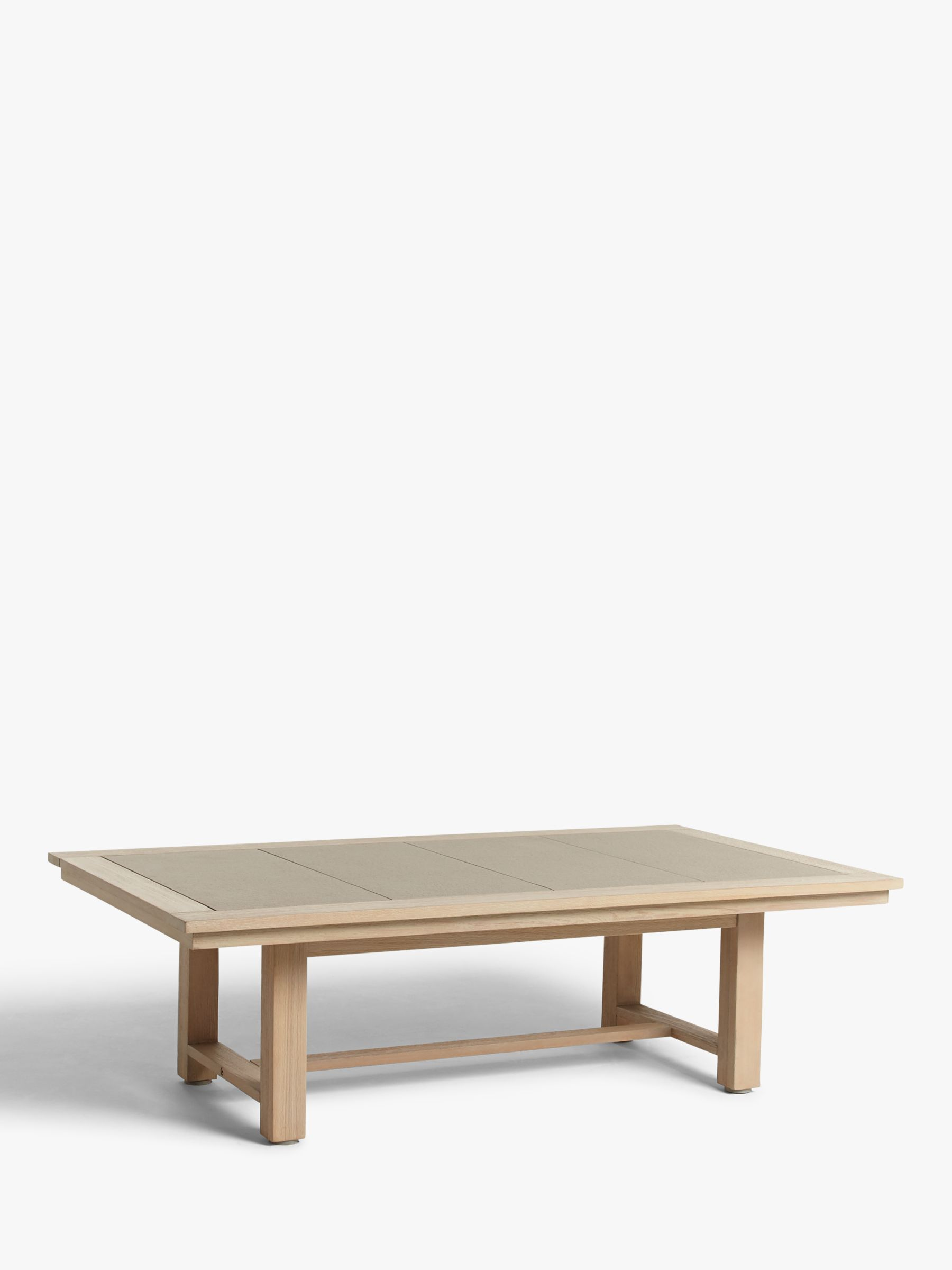 john lewis partners st ives garden coffee table fsc certified eucalyptus wood natural