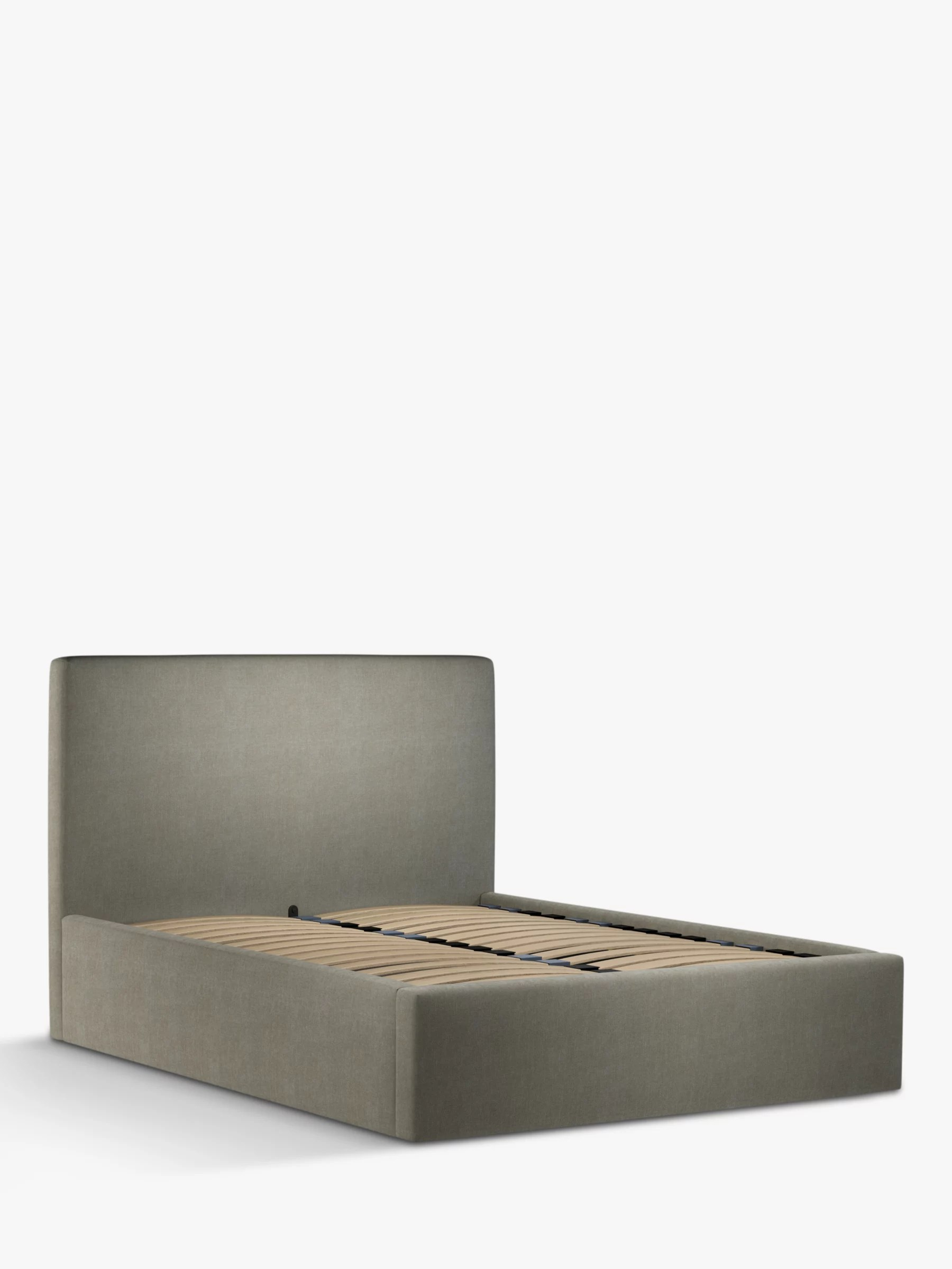 John Lewis Partners Emily Ottoman Storage Upholstered Bed Frame King Size At John Lewis Partners