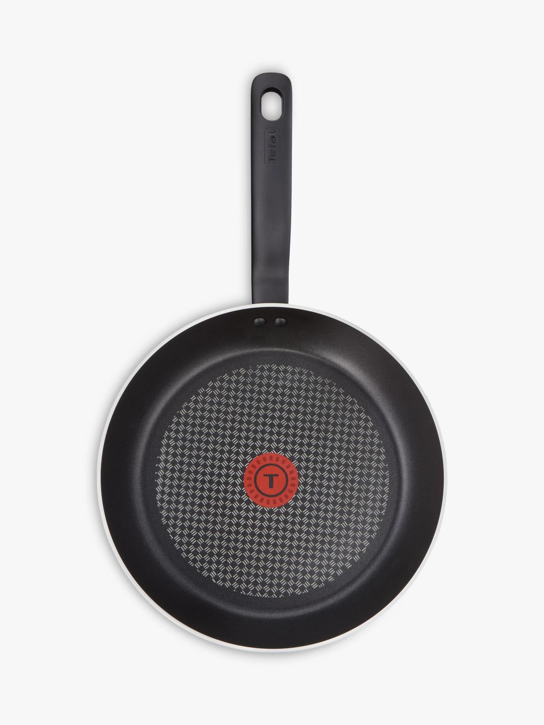 tefal prominence aluminium non stick frying pan casserole saucepan set 6 piece