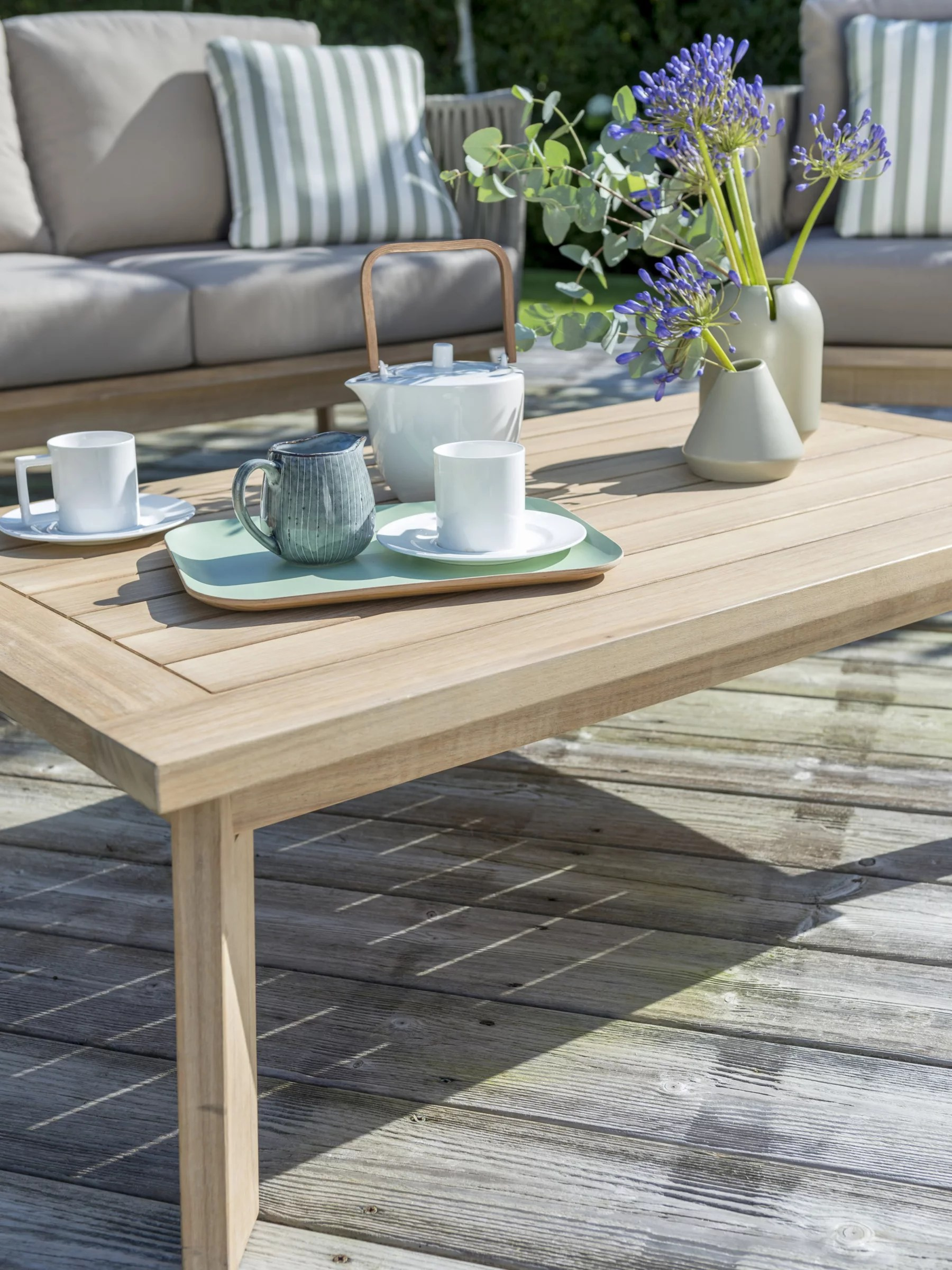 kettler adelaide garden table chairs 5 seater lounging set fsc certified eucalyptus wood natural