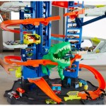 Hot Wheels City Ultimate Garage Track Set Bundle With Hot Wheels Character Cars Pack Of 20 At John Lewis Partners